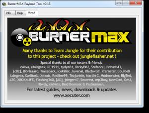 Burner Max Tool: gravure des Xgd3 sans firmware ixtrem burner max