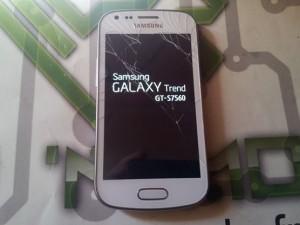 Galaxy Trend, avant réparation