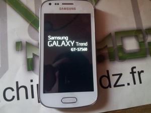 Galaxy Trend après réparation chip'n modz