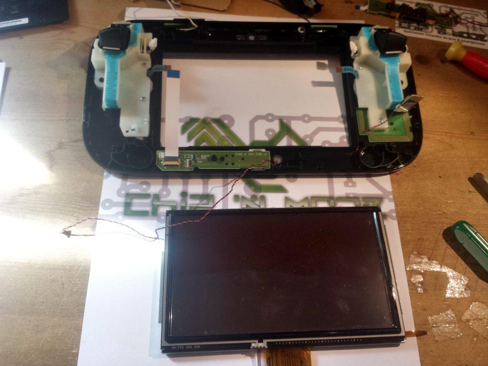 écran LCD retiré Gamepad Nintendo