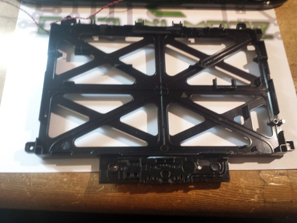 Chassis maintien LCD gamepad