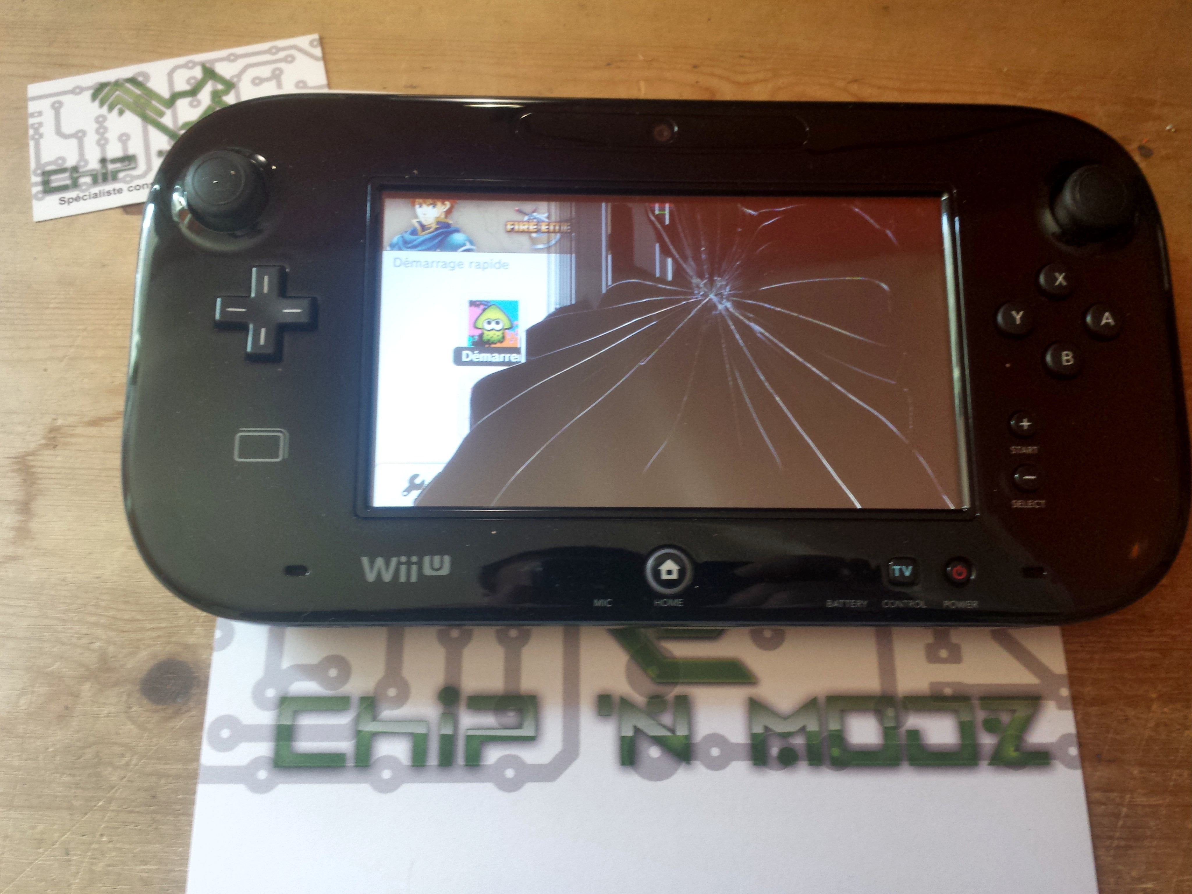 Tuto remplacer l cran lcd sur le gamepad de la wii u - Comment connecter les manettes wii a la console ...