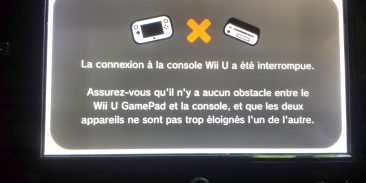 Gamepad probleme de connexion avec la console wiiu