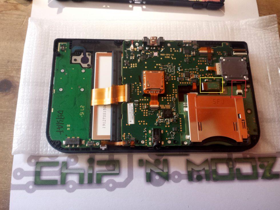 connecteur pcb slot 1 new 3DS XL