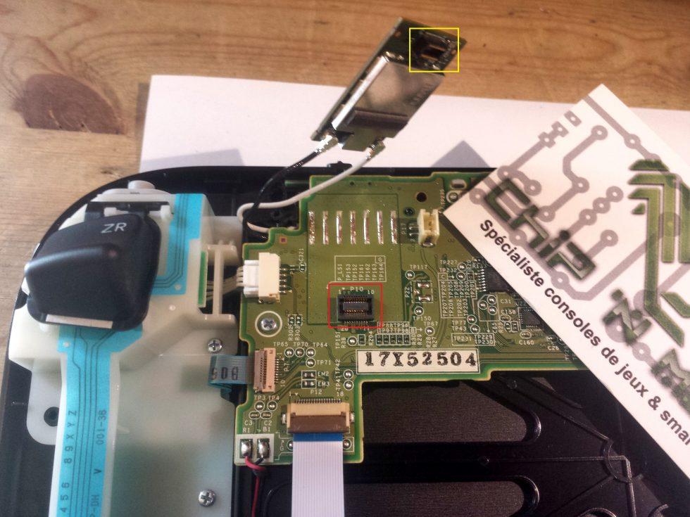 connexion module bluetooth wifi gamepad wii u