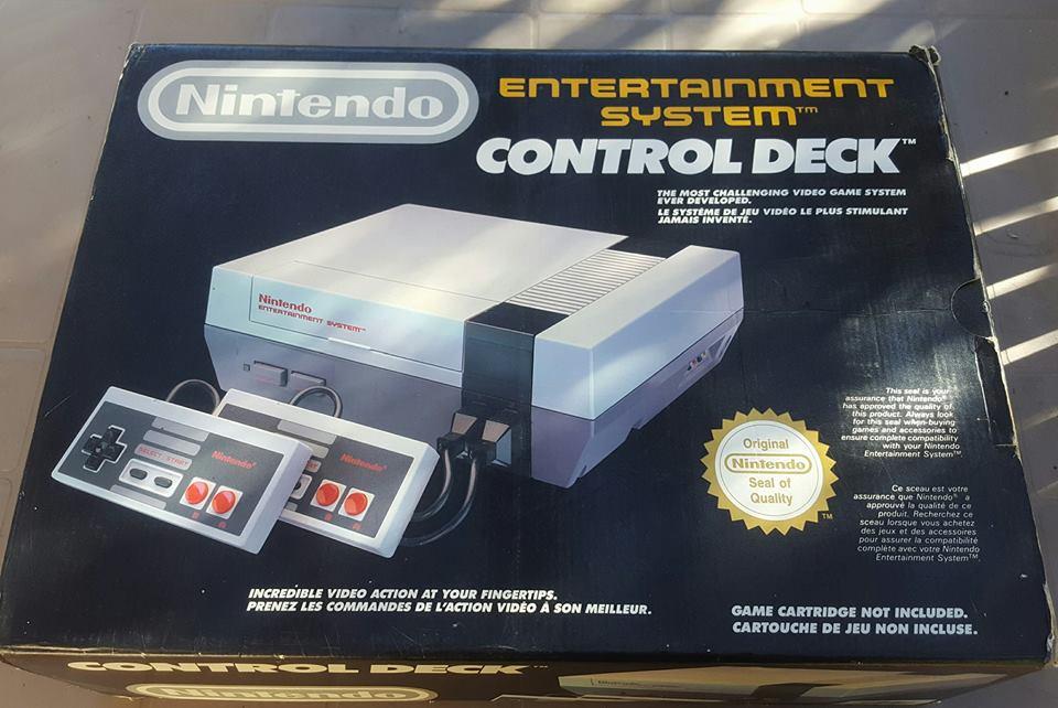Arrivage de consoles Retrogaming Nintendo !